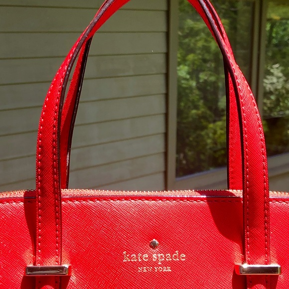 kate spade Handbags - kate spade medium dome satchel...worn once
